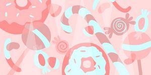 Lollipop pink world