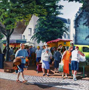 Market day - Christian Simonian