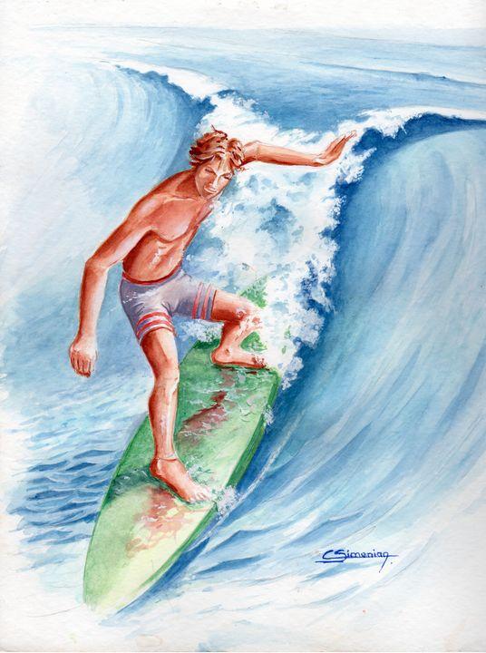 Surfer - Christian Simonian