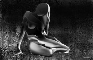 Nude 02 Black&White - Christian Simonian