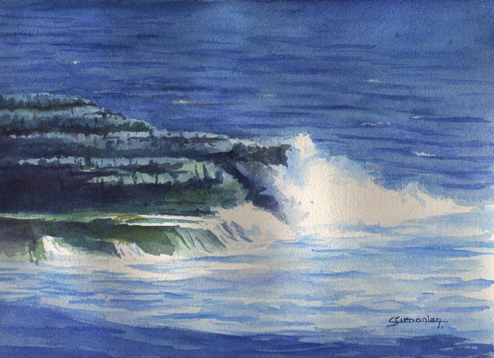 Wave splash - Christian Simonian