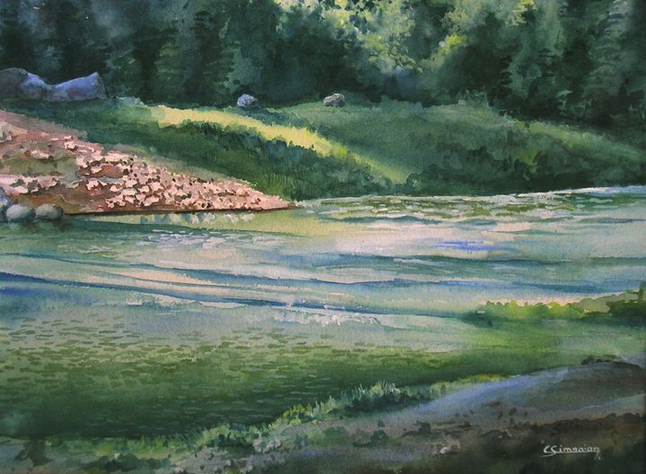 River - Christian Simonian