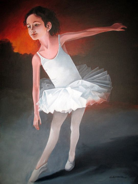 The young dancer - Christian Simonian