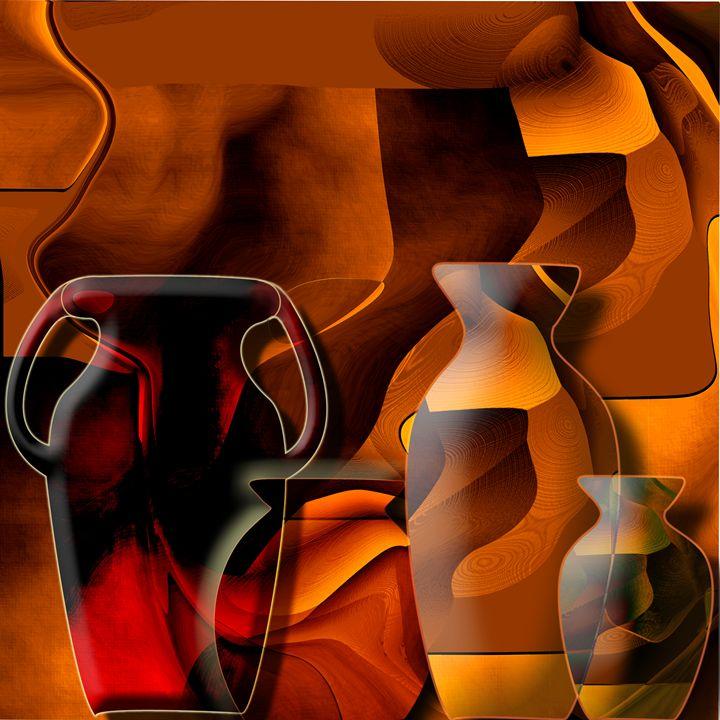 Pottery and vase 1 - Christian Simonian