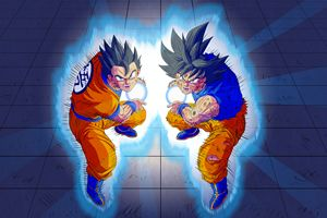 Dragonball Super father son finisher
