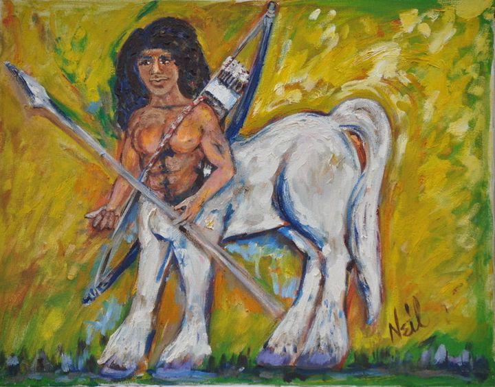 Centaur - Neil's Original Art
