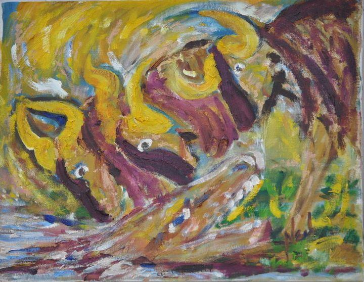 Animal Abstract - Neil's Original Art