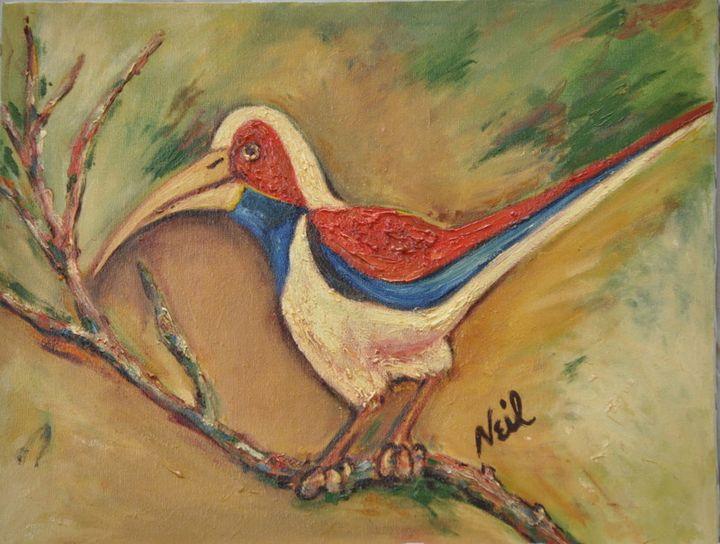 Kingfisher Bird - Neil's Original Art