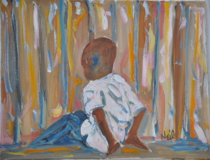 Lonely Boy - Neil's Original Art