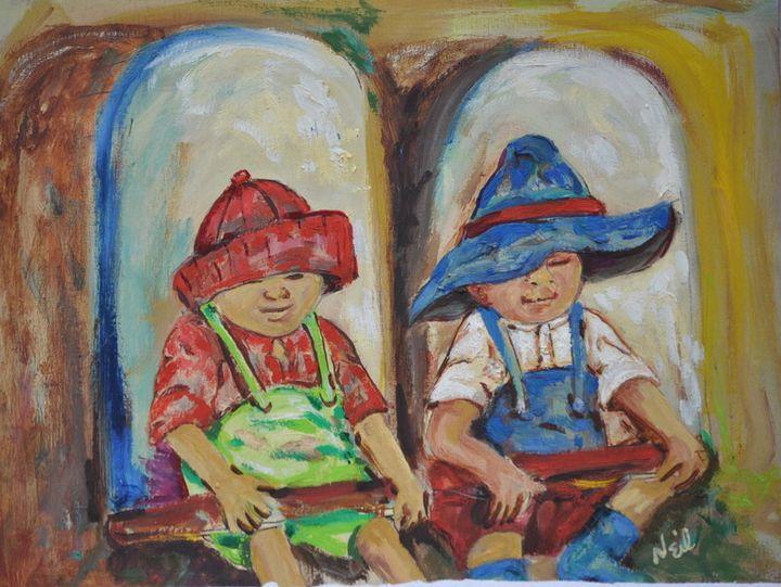 Twin Travel - Neil's Original Art