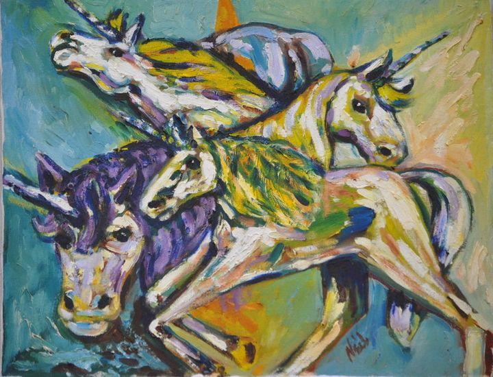 Unicorn - Neil's Original Art