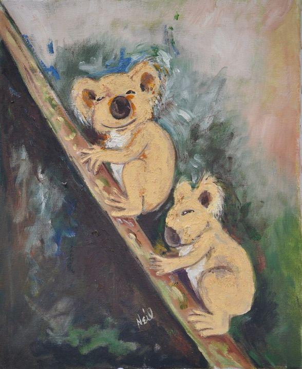 Koala Fun - Neil's Original Art