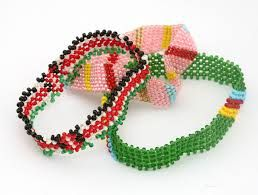Promotional beaded Wristbands