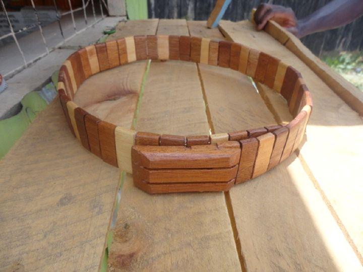 Wooden Men's Belt - Maasai Crafts Gallery