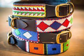 Dog Beaded Collars - Maasai Crafts Gallery