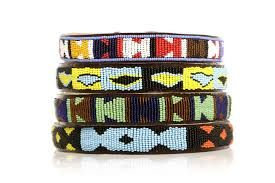 Beaded Dog collar - Maasai Crafts Gallery
