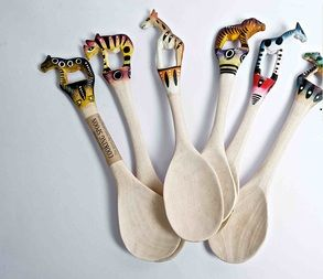 Hand Painted Spoon - African Touch