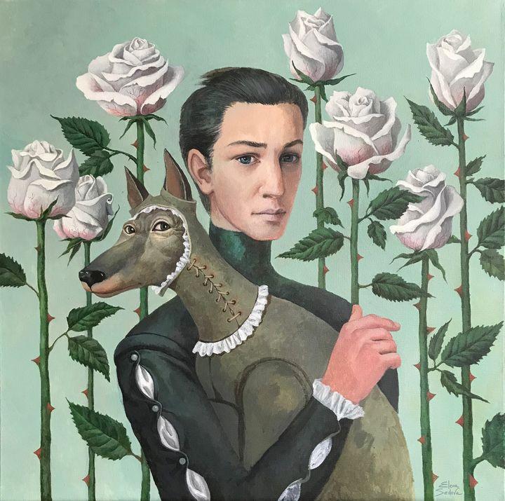 Among Roses - Elena Sedova Art