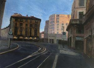 A street of Milan