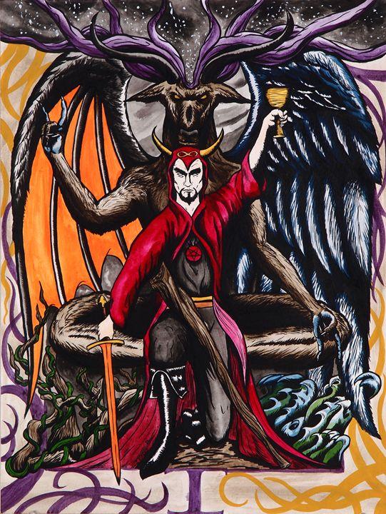 I The Magician - Tarot Devil