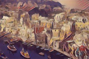 Der sizilianische Hafen - Art & Love by kasaan