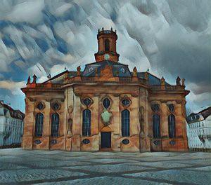 Ludwigskirche Saarbrücken - Art & Love by kasaan