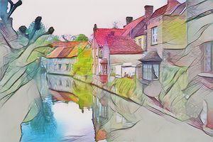 An einem Nachmittag in Brügge - Art & Love by kasaan