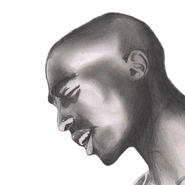 2pac Shakur Portrait - Jules Walker