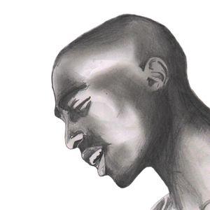 2pac Shakur Portrait