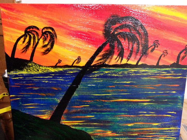 Palms before the storm - Derek Irby Collection