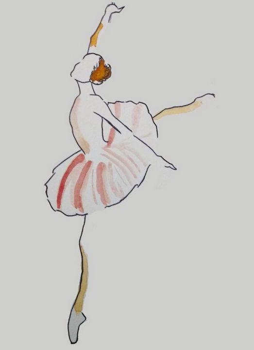 Ballerina Dancer - artally