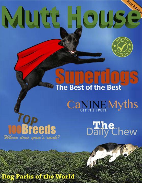 Dog Magazine Cover - Gardner's Gallery