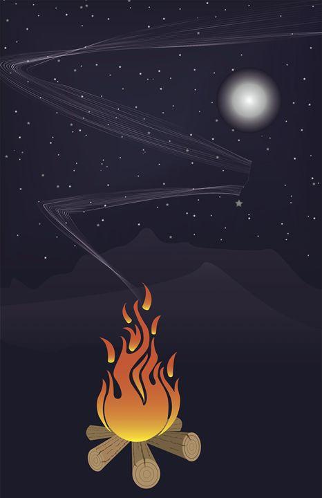 Moonlite Campfire - Gardner's Gallery