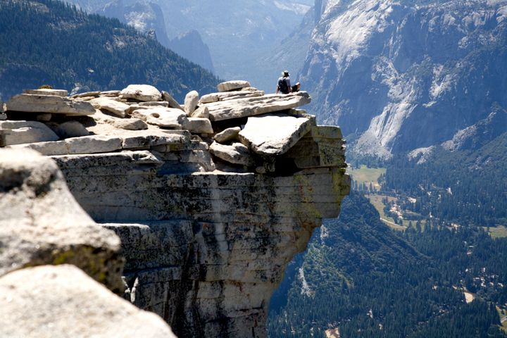 RELAXING ON HALF DOME - Dawn2Dawn Photography