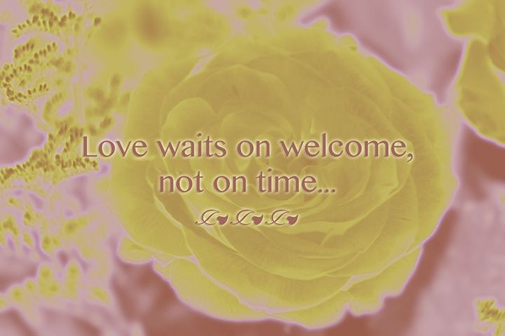 Love Waits on Welcome - The Soul Messages by Jodi