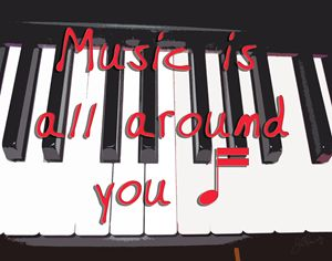 Music Is All Around You - The Soul Messages by Jodi