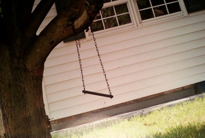 Childhood swing - Samantha's night art