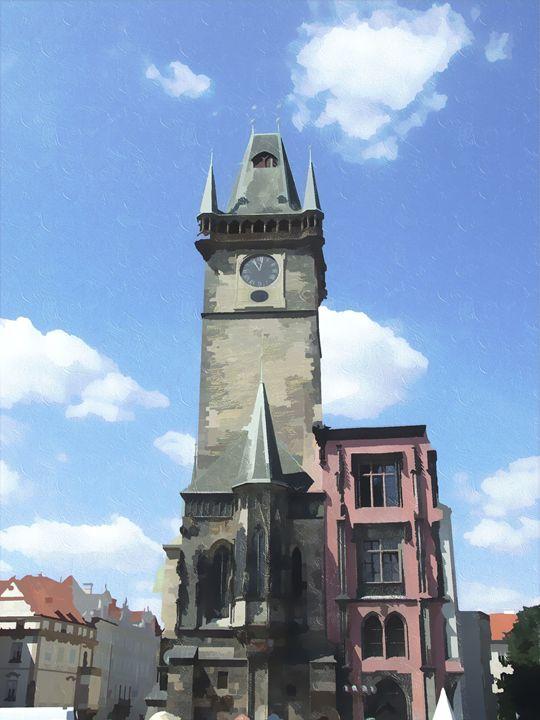 Prague tower 2 - David Jones