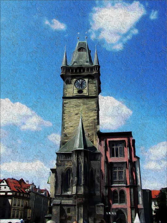 Prague tower - David Jones
