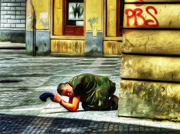 Begging - David Jones