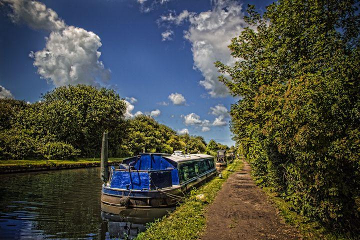 Canal Boat - David Jones