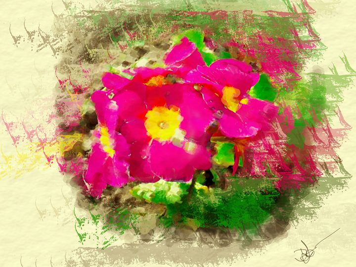 Flower power - David Jones