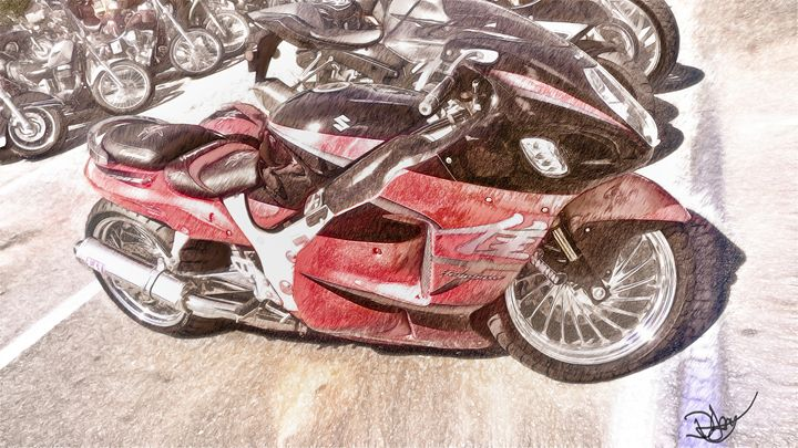 Bike art - David Jones