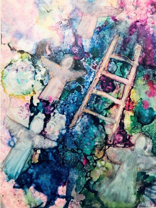 Angels Among Us, Jacob's Ladder - Judy Block