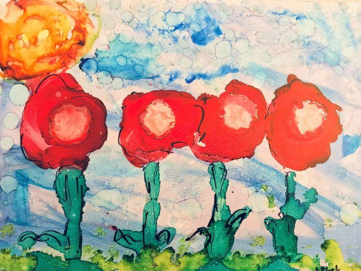A Pop of Poppies - Judy Block