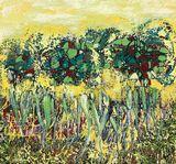 original abstract landscape.