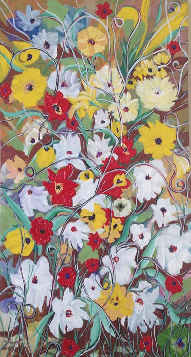 Flowers of heaven - Sima Arts