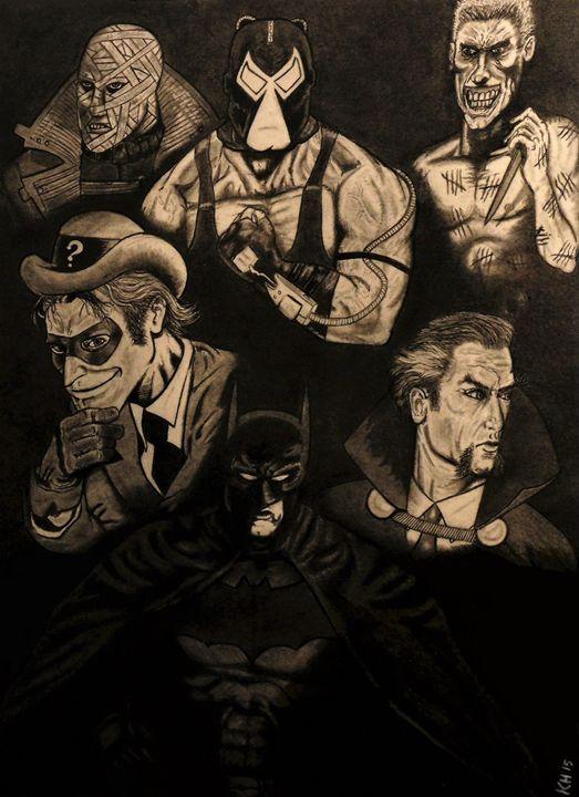 Deception of The Dark Knight - Kevin Hamilton Art