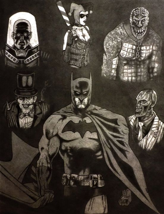 Conquest of The Dark Knight - Kevin Hamilton Art