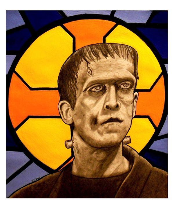 Jesus Frankenstein - Kevin Hamilton Art
